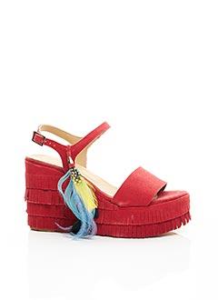 Sandales/Nu pieds rouge FIORINA pour femme