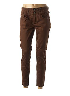 Pantalon casual marron TIFFOSI pour femme