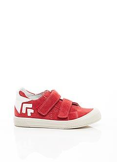 Baskets rouge MINIBEL pour garçon
