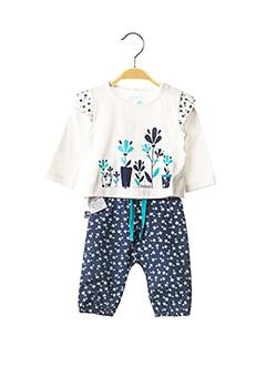 Top/pantalon bleu BOBOLI pour fille