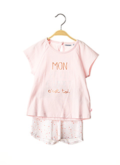 Top/short rose NOUKIE'S pour fille