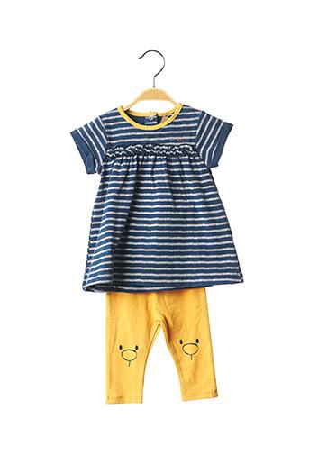 Top/pantalon bleu NOUKIE'S pour fille