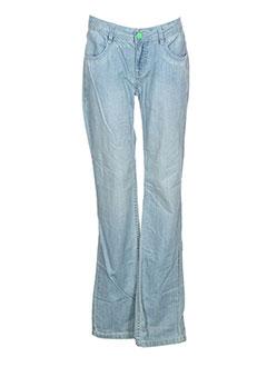 Jeans coupe droite bleu RIP CURL pour fille