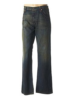 Jeans coupe droite bleu KB SCHOOL pour homme