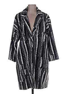 Manteau long gris VALERIE KHALFON pour femme
