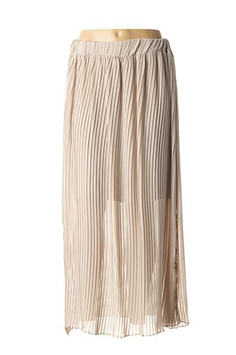 Jupe longue beige BETWEEN pour femme
