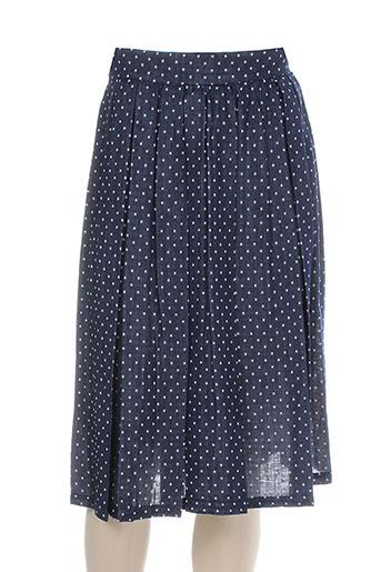 Jupe mi-longue bleu BCBGENERATION pour femme