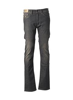 Jeans coupe droite marron MCS pour homme