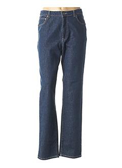 Jeans coupe slim bleu JEAN GABRIEL pour femme
