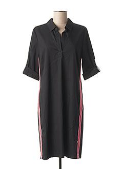 Robe mi-longue noir VERA MONT pour femme