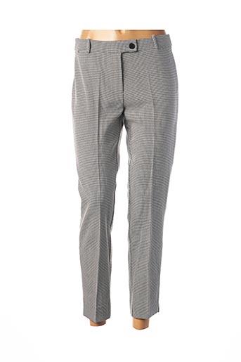 Pantalon 7/8 noir HIPPOCAMPE pour femme