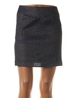 Jupe courte bleu GARANCE pour femme