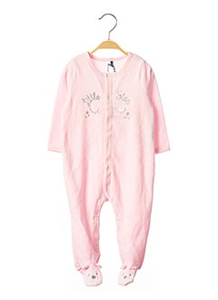 Pyjama rose 3 POMMES pour fille