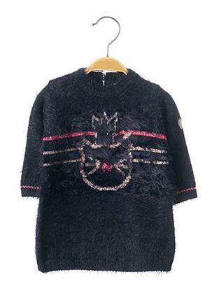 Robe pull bleu 3 POMMES pour fille