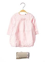 Robe mi-longue rose 3 POMMES pour fille seconde vue