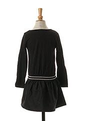Robe mi-longue noir 3 POMMES pour fille seconde vue