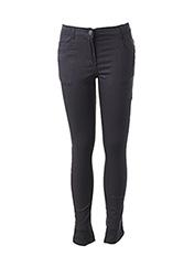 Pantalon casual bleu 3 POMMES pour fille seconde vue