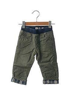 Pantalon casual vert JEAN BOURGET pour garçon