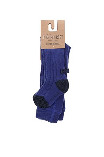Collants bleu JEAN BOURGET pour fille