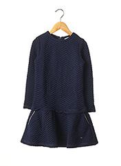 Robe mi-longue bleu LILI GAUFRETTE pour fille seconde vue
