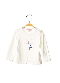 T-shirt manches longues beige LILI GAUFRETTE pour fille