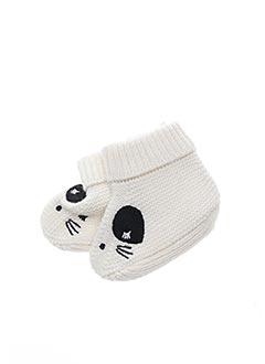 Chaussons/Pantoufles blanc CATIMINI pour enfant