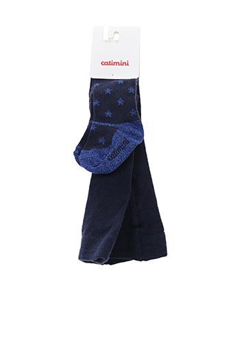 Collants bleu CATIMINI pour fille