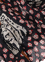 Foulard noir CATIMINI pour fille seconde vue