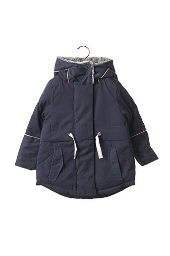 Manteau long bleu JEAN BOURGET pour fille