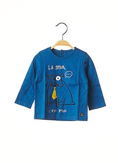 T-shirt manches longues bleu CATIMINI pour garçon