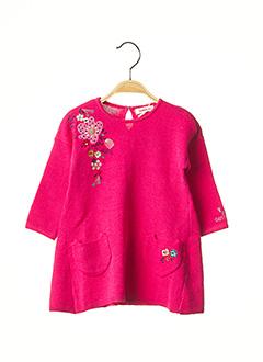 Robe mi-longue rose CATIMINI pour fille