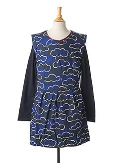 Top/robe bleu CATIMINI pour fille