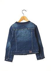 Veste en jean bleu CATIMINI pour fille seconde vue