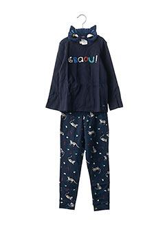 Pyjama bleu CATIMINI pour garçon