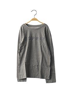 T-shirt manches longues gris ESPRIT pour enfant