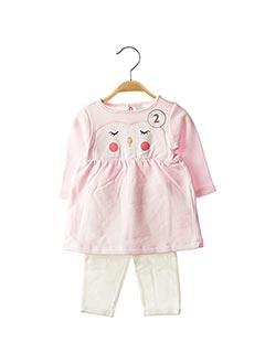 Top/pantalon rose ESPRIT pour fille