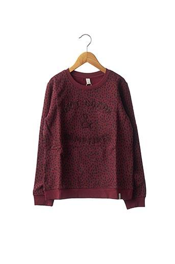 Sweat-shirt rouge ESPRIT pour fille