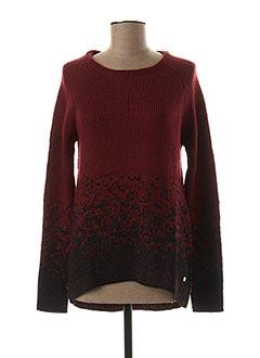 Pull tunique rouge ESPRIT pour fille