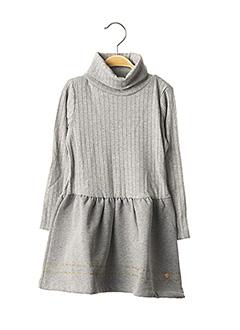 Robe mi-longue gris ESPRIT pour fille