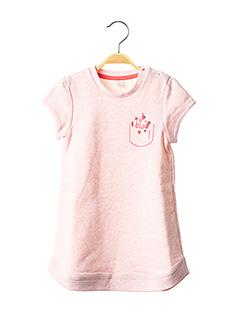 Robe mi-longue rose ESPRIT pour fille