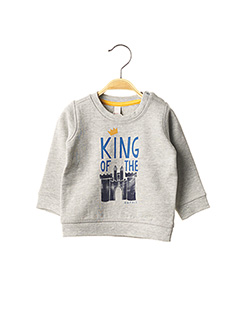 Sweat-shirt gris ESPRIT pour garçon