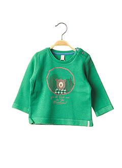 Sweat-shirt vert ESPRIT pour garçon