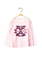 T-shirt manches longues rose ESPRIT pour fille seconde vue