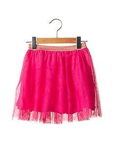 Jupe mi-longue rose ESPRIT pour fille