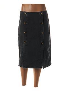 Jupe mi-longue bleu MAISON SCOTCH pour femme