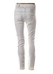 Pantalon casual blanc LIU JO pour femme seconde vue