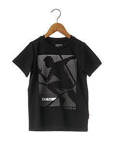 T-shirt manches courtes noir ICEPEAK pour garçon