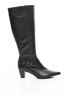 Bottes noir FIDJI pour femme