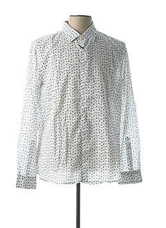 Chemise manches longues blanc ALTEA pour homme