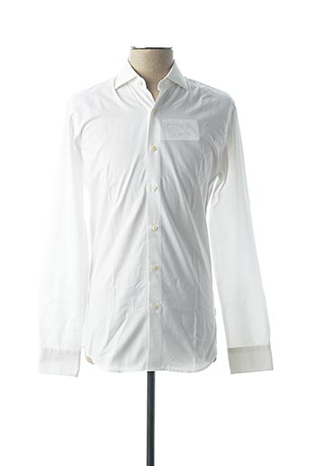 Chemise manches longues blanc FIGARET pour homme